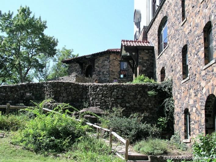 Heublein-Tower-Hike-Heublein-Tower Stone Exterior