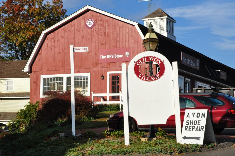 Shopping at Avon Old Village, Avon CT