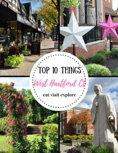 Top 10 things to do in West Hartford