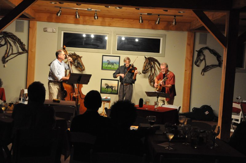 Lost Acres String Band performs at Lost Acres Vinyard