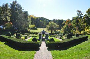 Sunken Garden at Hillstead Museum - Poetry Readings