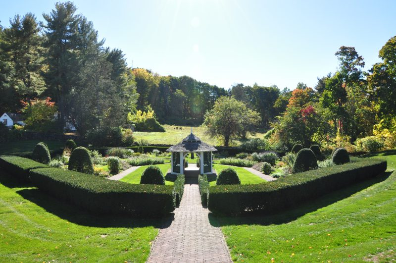 Sunken Garden at Hillstead Museum - Poetry Readings