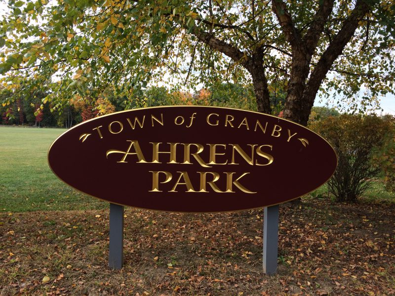 Ahearn Park Granby CT