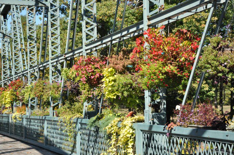 Flower Bridge, Simsbury CT