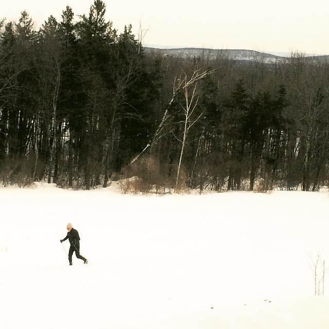 Cross Country Skiing, Simsbury, CT
