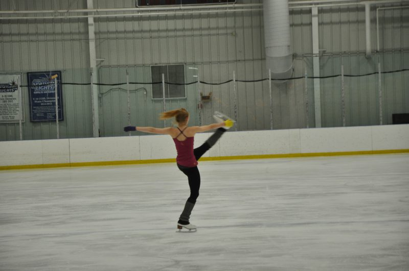 Professional Skater at International Skating Center, Simsbury, CT