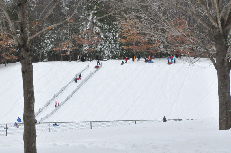 Sledding and Tubing at Winding Trails Farmington, CT, Things to do with Kids, Things to do in Connecticut
