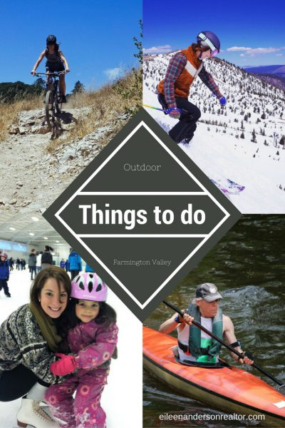Outdoor Things to do Farmington Valley and West Hartford ct Realtor Real Estate