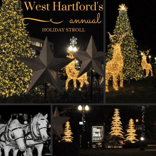 Holiday Stroll West Hartford, CT, Things to do with Kids