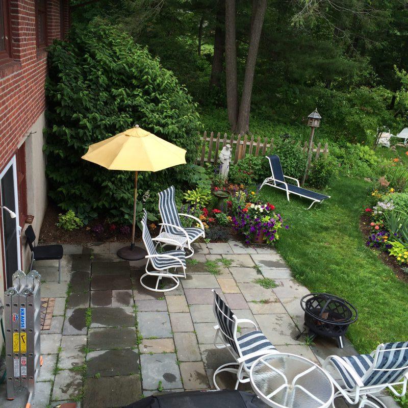 Pation Before Home Staging Landscape design
