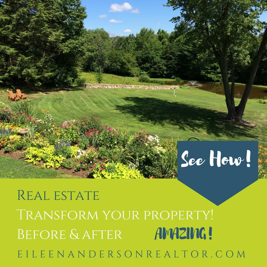 Real Estate, Landscape design, Realtor Farmington Valley, realtor Simsbury, Gardens