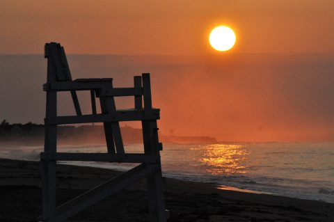 Sunrise at Beach, Things to do in Connecticut, Things to do with Kids CT,