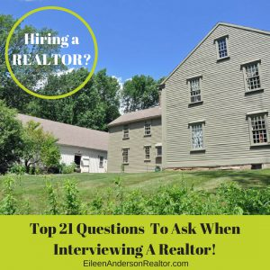 Top 21 Questions To Ask When Interviewing A Realtor!