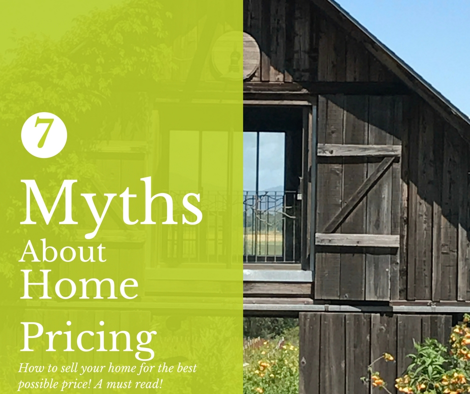 7, home selling, hire realtor, Myths about home pricing