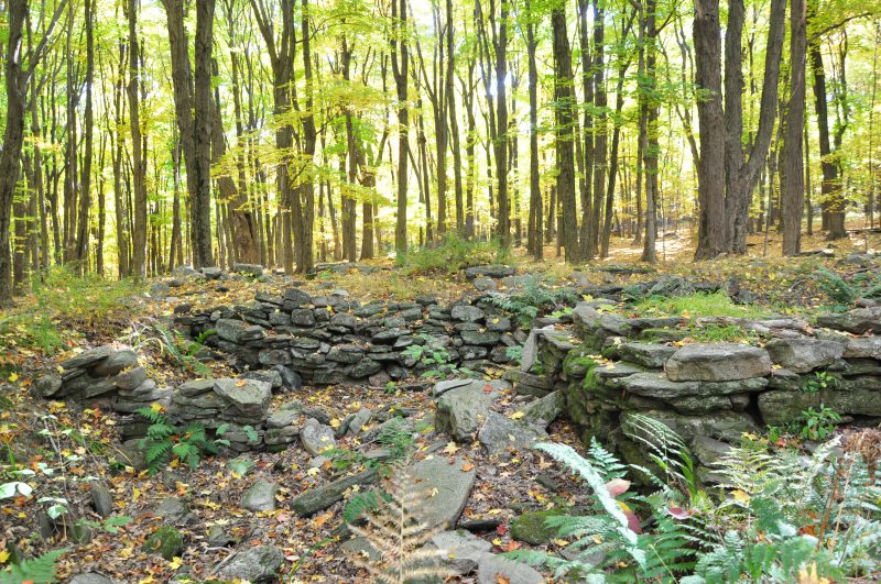 Old Stone Foundation in Philfershire Village West Simsbury CT