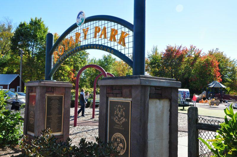 Rotary Park Playground, Simsbury, CT