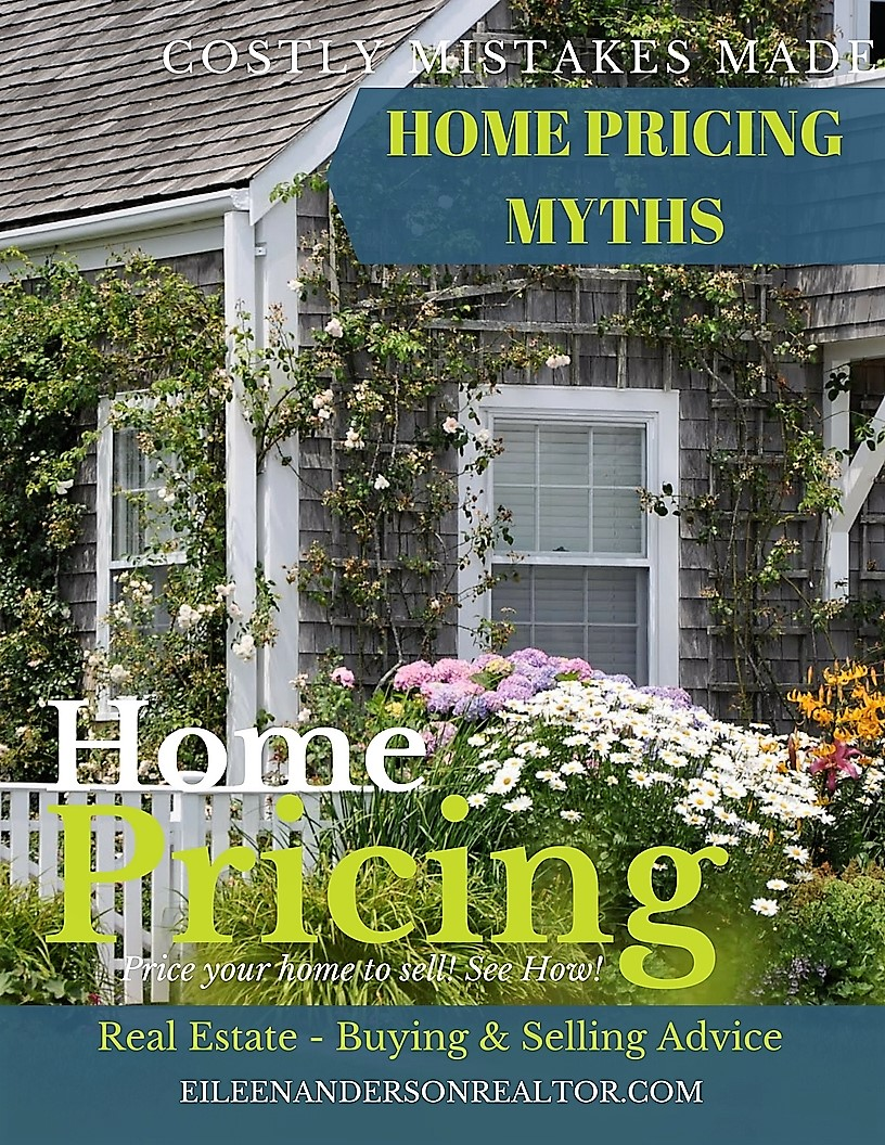 Home pricing to sell, real estate home selling, myths of overpricing home, real estate advice home pricing, myths of home pricing