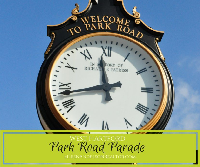 Park Road Parade-Clock