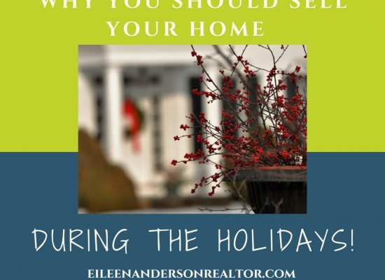 Selling home during holidays