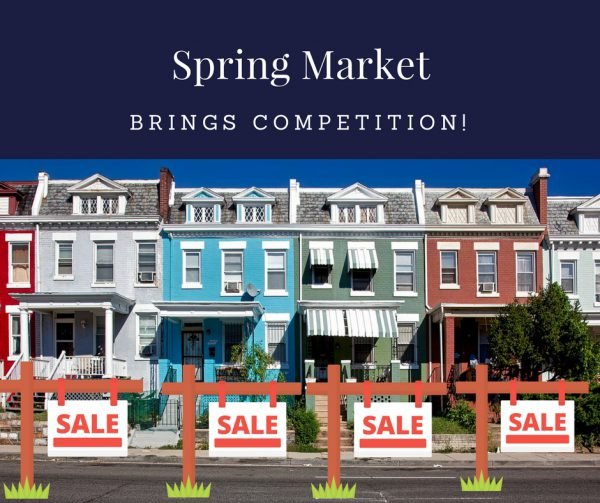 Spring Market home selling