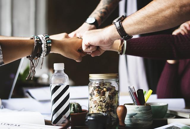 Teamwork, real estate team
