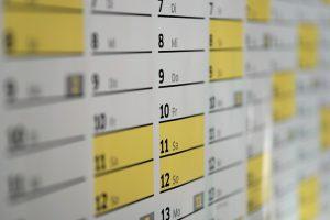 calendar-blackout dates