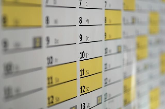 selling your home - blackout dates showing