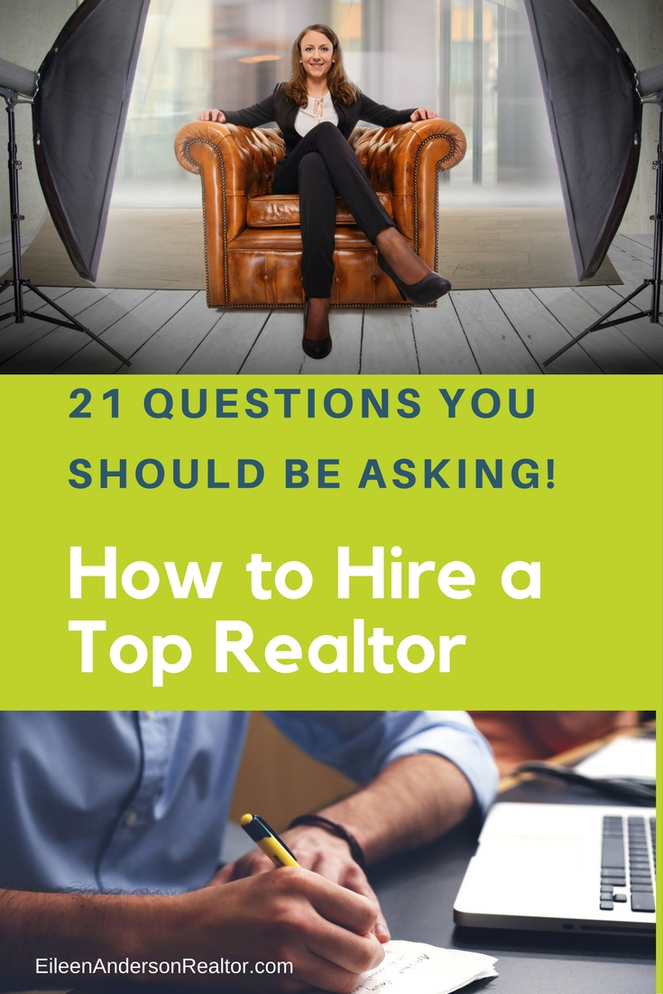 21 Questions Hire Realtor