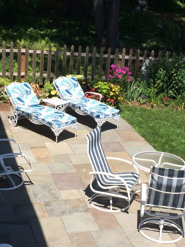 Patio Repairs Home Staging