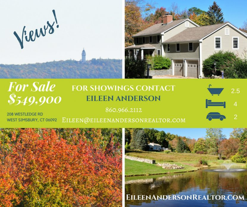 For Sale 208 Westledge - West Simsbury CT