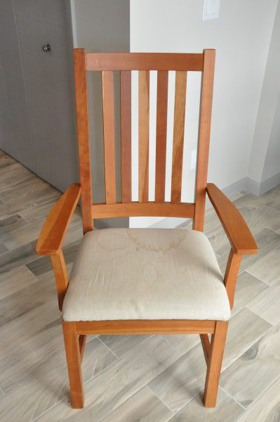 Remove The Old Fabric, Foam, Batting, And Mesh From The Seat. They Are  Attached With Staples And Can Be Difficult To Remove. I Find That A Screw  Driver And ...