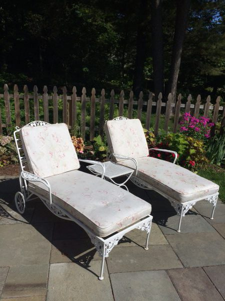 Old worn fabric on patio chairs - Home Improvement - DIY
