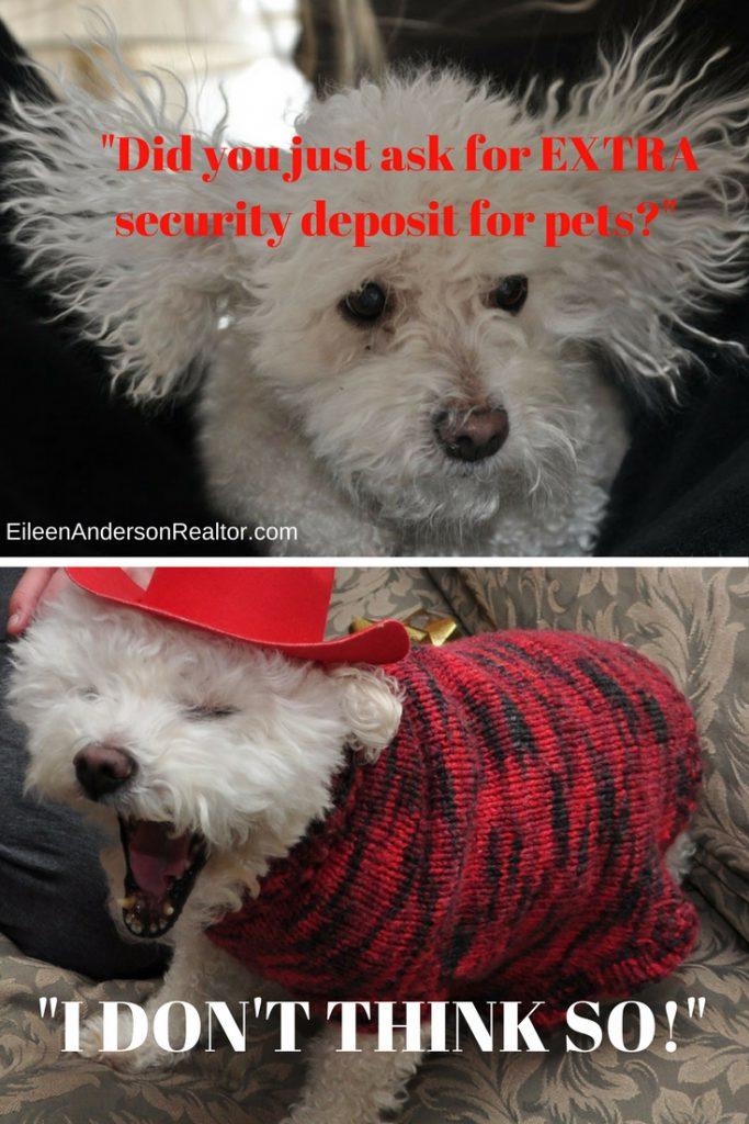 Fair Housing, Security Deposit pets