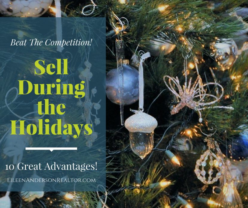 Avantages to Selling your Home During the Holidays