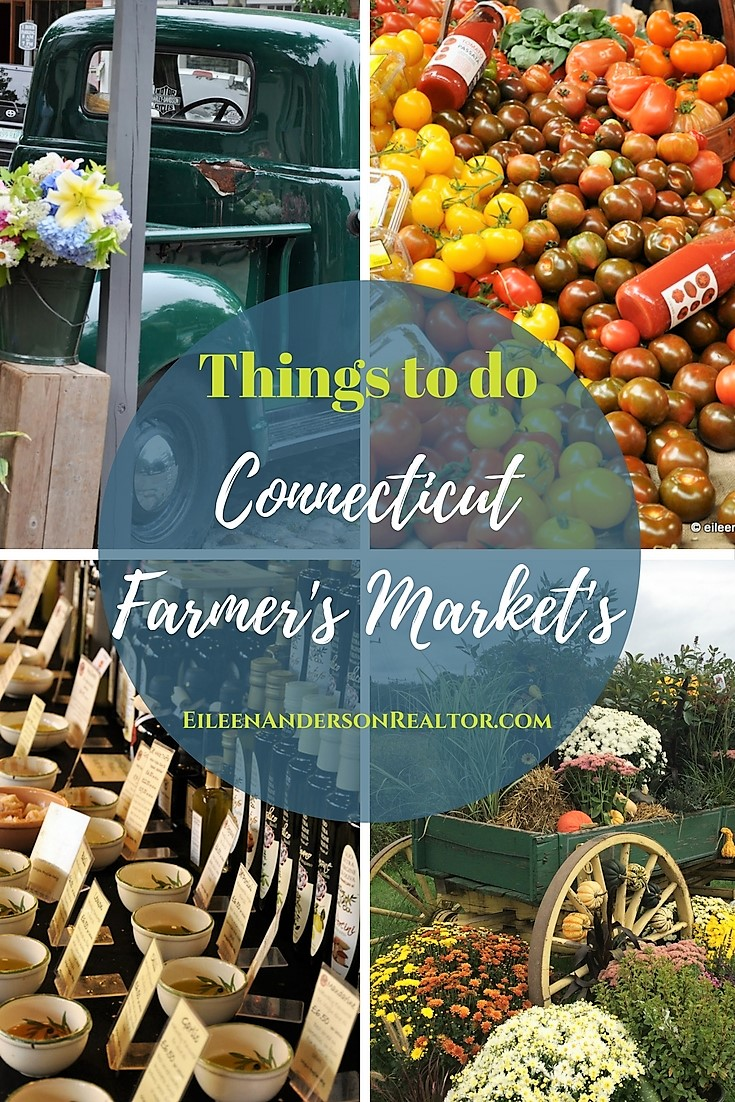 Connecticut Farmer's Market's: Collinsville, Hartford, Litchfield, West Hartford, Simsbury, and more!