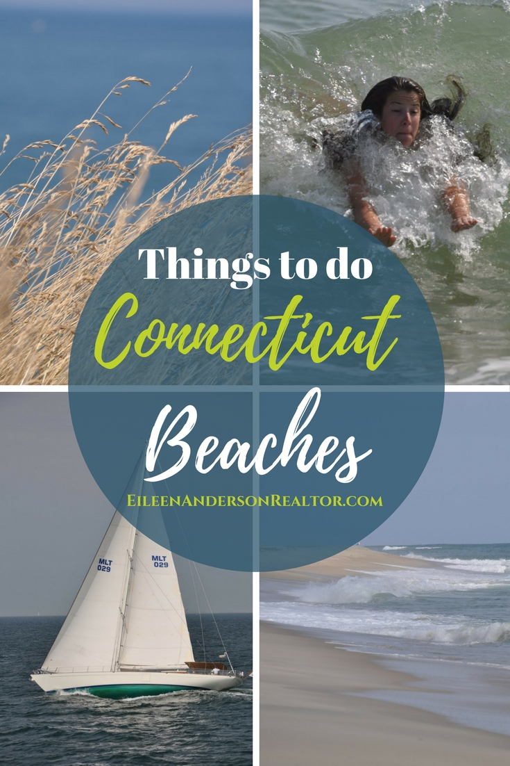 Things to do Connecticut - Beaches, CT shoreline, Sailing, Swimming and more! Ocean Beach CT, Old Lyme Beach, Stonington, Watch Hill RI