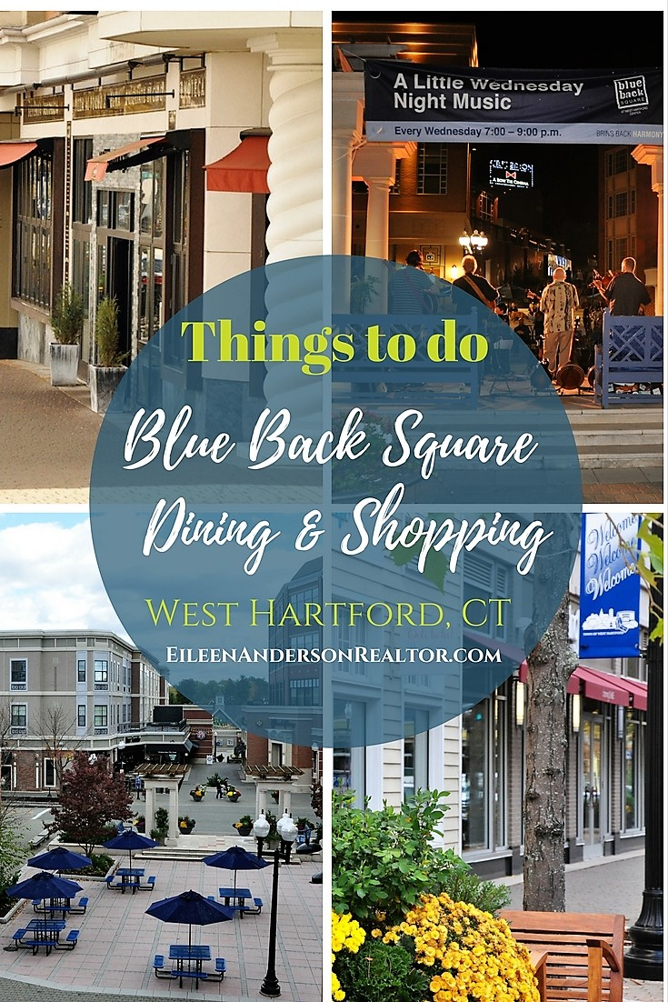 Things to do Connecticut Blueback Square-Boutique Shops - Restaurants - Wine Bars - Cinema - library