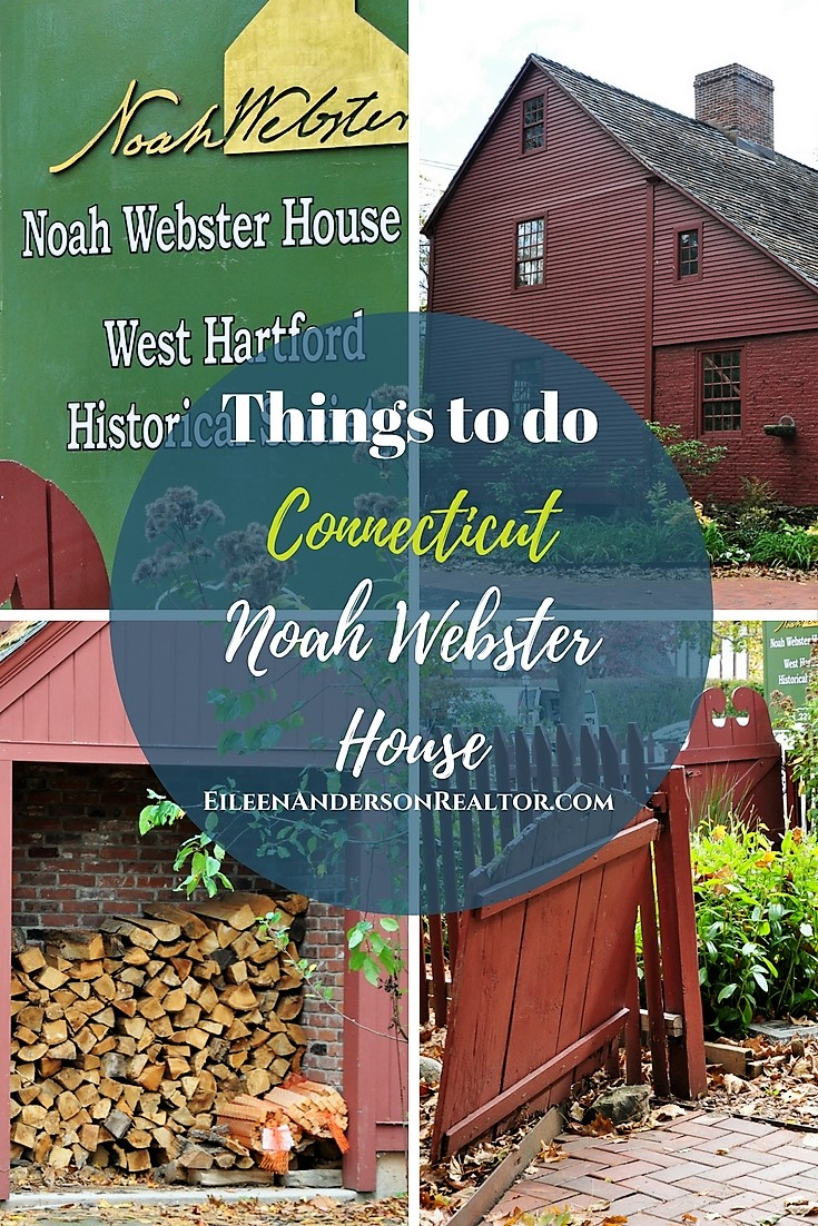 Things to do Connecticut Noah Webster House, West Hartford, Ct.