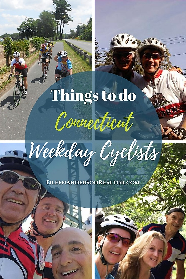 Weekday Cyclists, west Harford, Simsbury, Granby, Canton