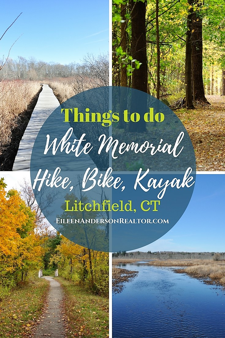 White Memorial Conservation Area, Litchfield, CT Hike, Bike, Horseback riding, kayaking, ski, things to do with kids