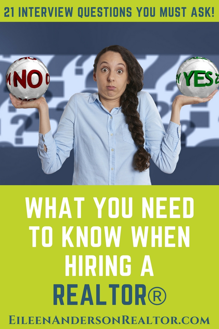 HIRE TOP REALTOR 21 INTERVIEW QUESTIONS WHEN INTERVIEWING REALTRO