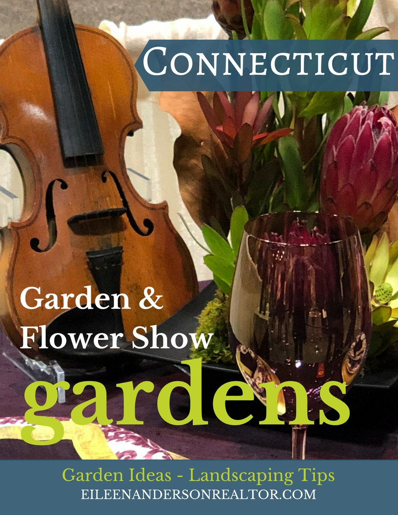 Table Settings and Floral Arrangements at Connecticut Flower and Garden Show