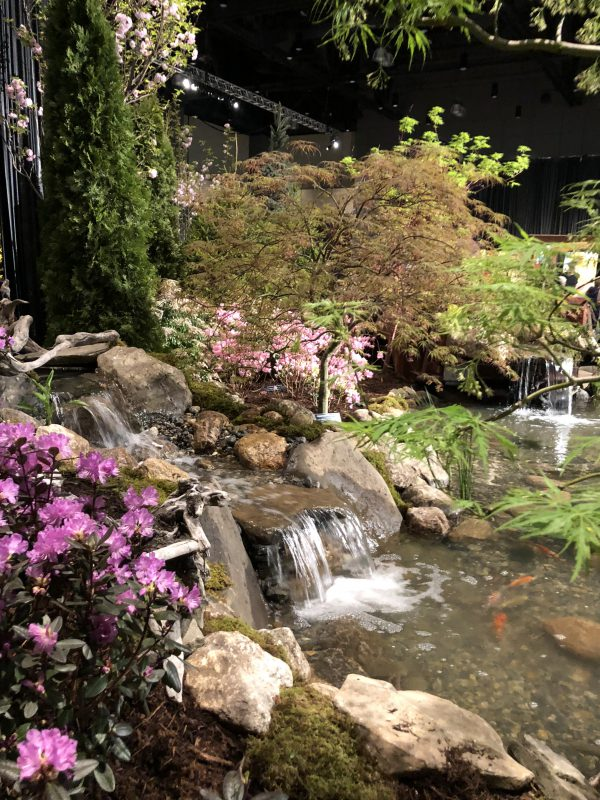 Connecticut Garden and Flower Show Pond