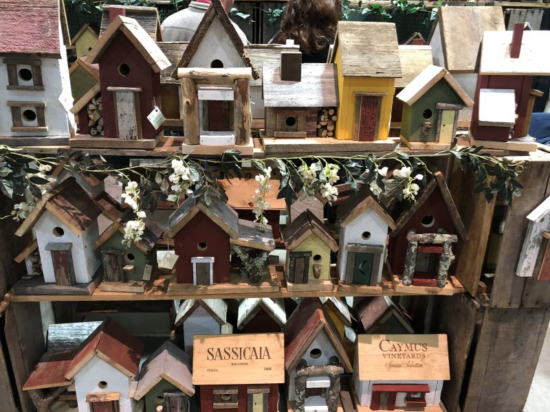 Multiple Bird House Vendors