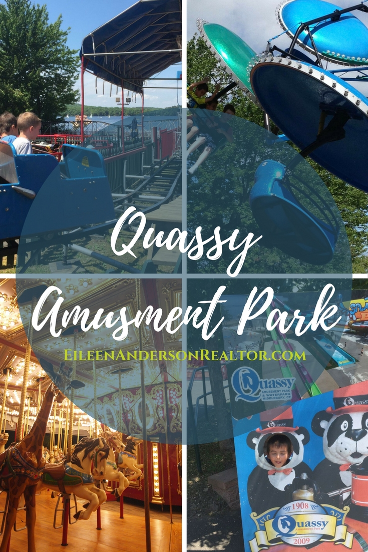 Quassy Amusement Park. For any former locals, yes, Friday nights are still a quarter and many rides, including the antique carosuel, are still in operation today!