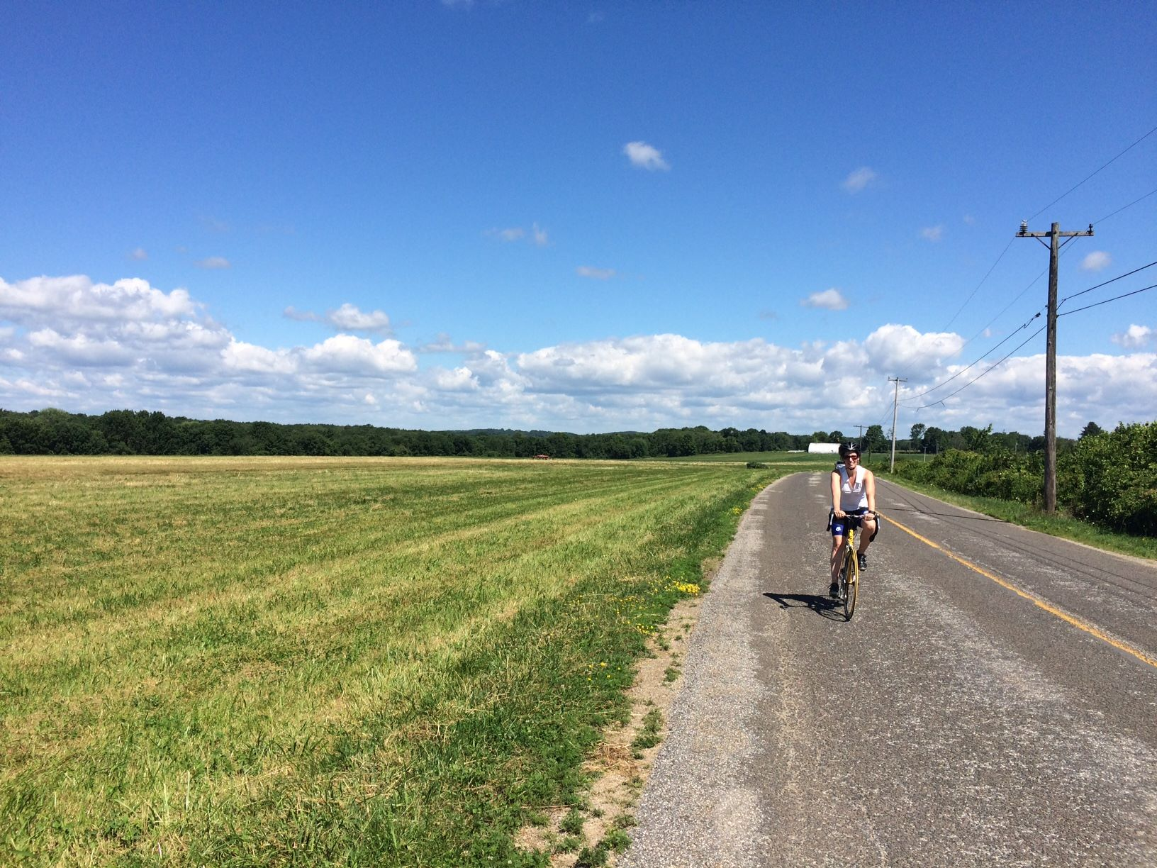 Great cycling in Southbury, Roxbury, and Woodbury for those who love hills.