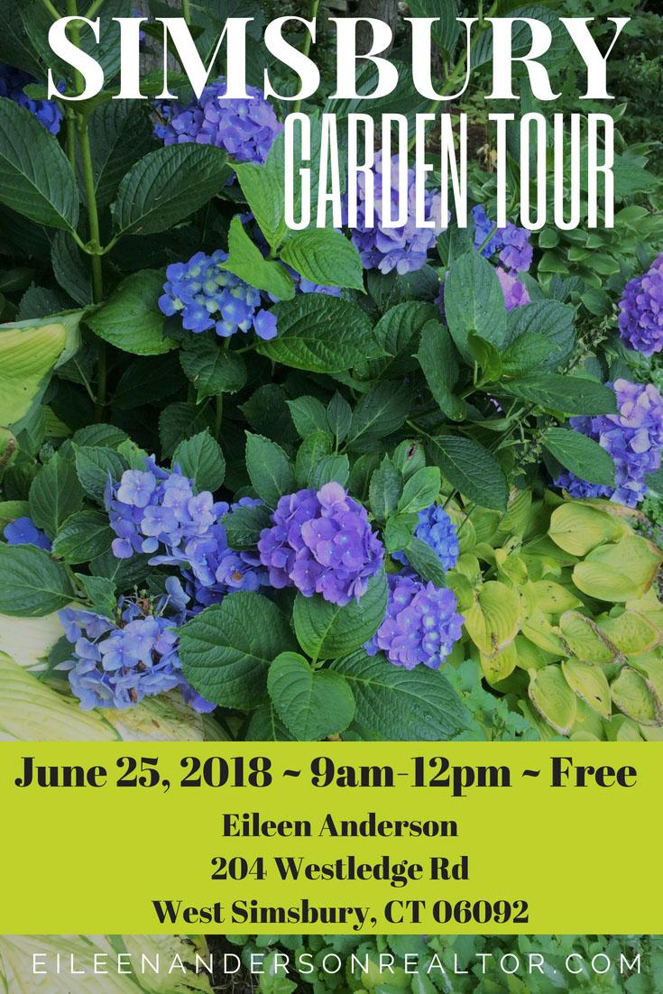 Garden Tour Simsbury CT