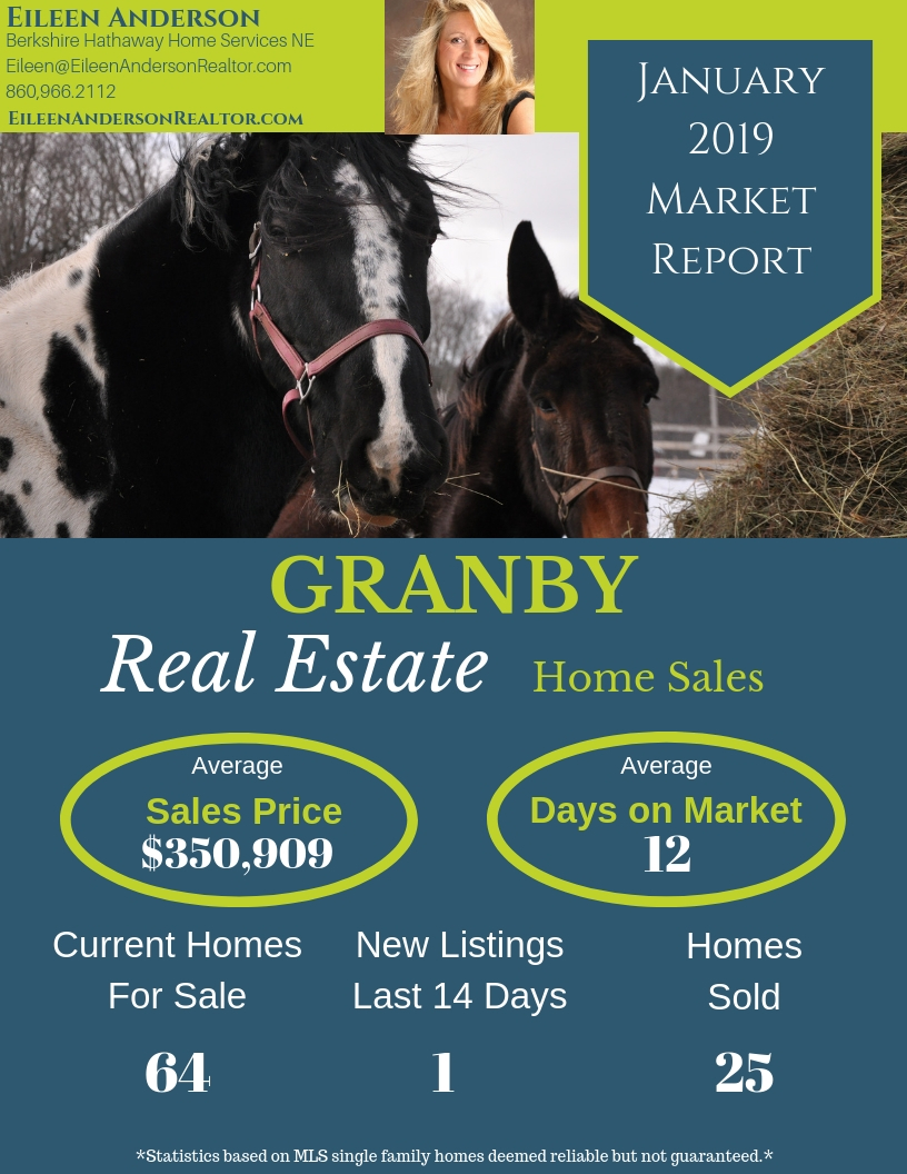 Real Estate Market Report Granby January 2019