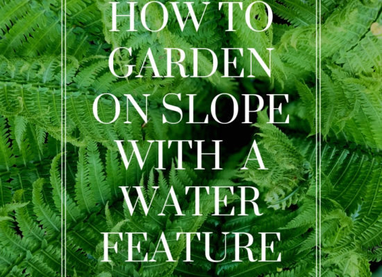 how-to-garden-slope-waterfall